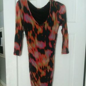 Velvet Anthropologie Multicolor Bodycon Dress